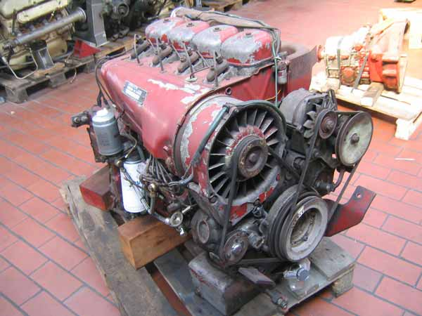 engine Magirus Deutz F4L913