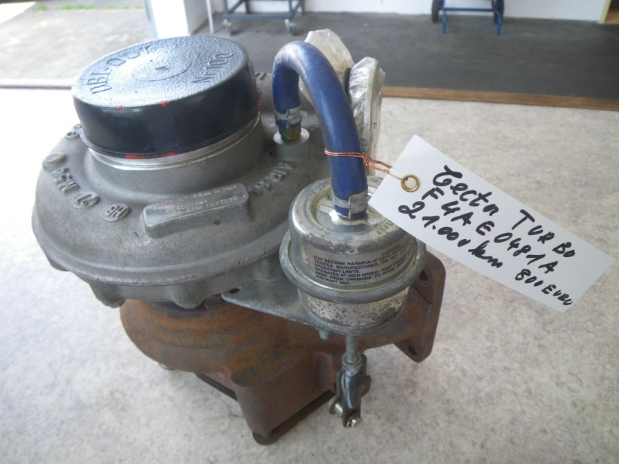 turbocharger Tector F4AE0481A, used 21000km