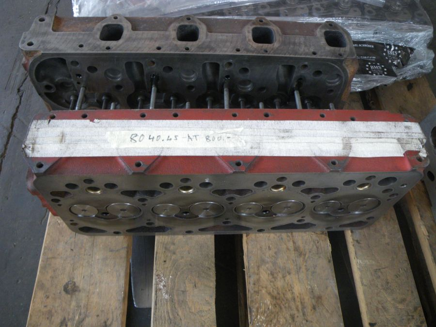 cylinder head refittet for Eurocargo 75E14 engine 8040.45 with c