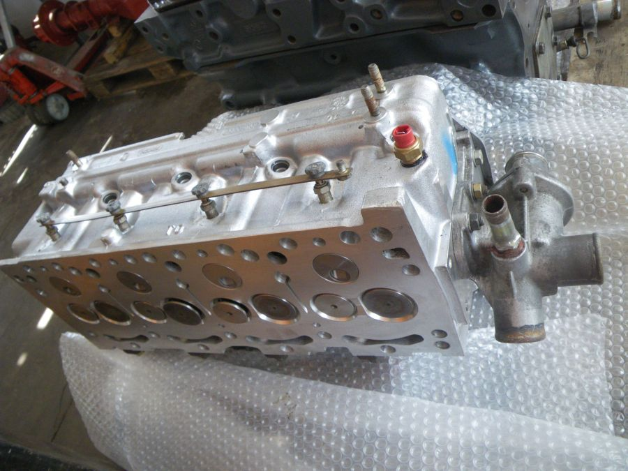 cylinder head Ducato 2,5D with camshaft, refittet, Nr. 7450464 f