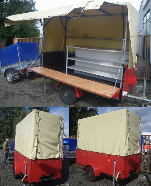shoping trailer